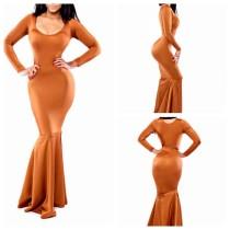 Vestido Maxi Sereia Bodycon 14523