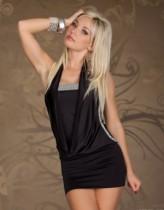 Vestido Talla Extra Acanalado 11597