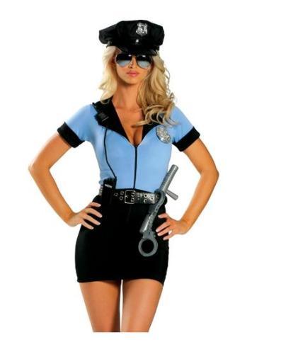 Mavi Polis Kostümleri 19054