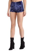 Pantalones cortos sexy de terciopelo puro 23851-1