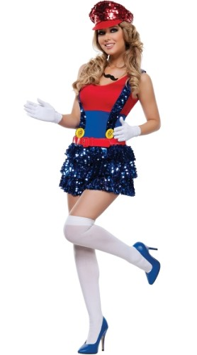 Super Mario Kostüme Kleid 19723-1