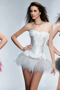 Girls Sexy Corset With Tutu Skirt 10632-3