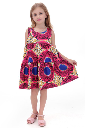 Yeni varış moda çocuk elbise xnumx