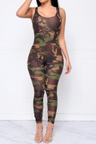 Ärmellose Frauen Bodycon Jumpsuits 20229
