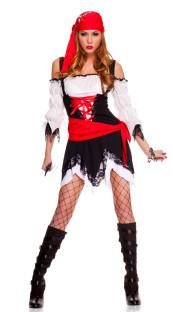Pirat Füchsin Mädchen Kostüm 11803