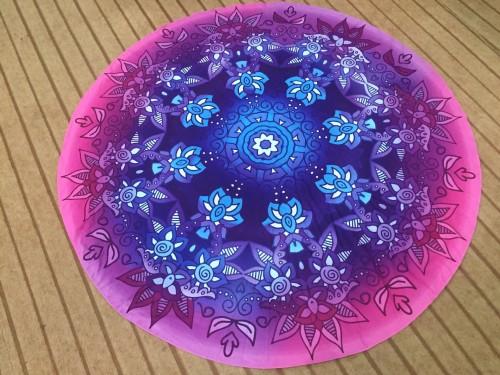Indian Mandala Round Beach Towel 21434-7