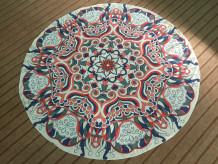 Indian Mandala Round Beach Towel 21434-1