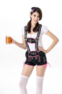 Party Night Cosplay Beer Girl Сексуальные костюмы 21778