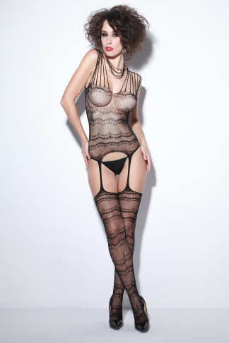 Transparenter Body Bodystockings 15010