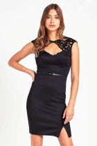 Sexy Hollow-Out Elegant Party Dress 23796-2