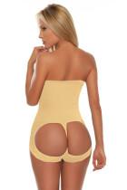 Mulheres Cintura Alta Sem Costura Roupa Interior Inferior Hip Up 16341-2