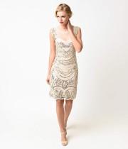 Vintage Applique Party Dress 24010-2