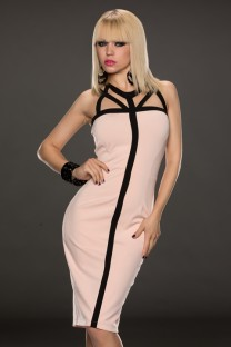Strappy Bodycon Midi Dress 14548-2