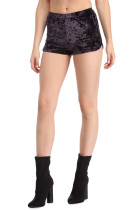 Pantalones cortos sexy de terciopelo puro 23851-2