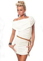 Mini vestido Racy Ruching 11517