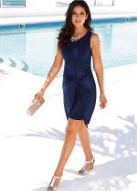 O-Neck Sleeveless  Dress 20481-2