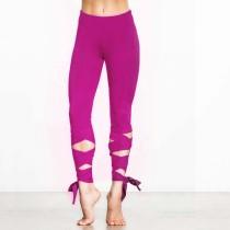 Woman's Yoga Fitness Wrap Strakke opwindende leggings 24396-4