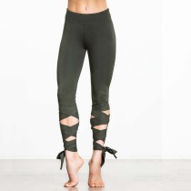 Woman's Yoga Fitness Wrap Strakke opwindende leggings 24396-3