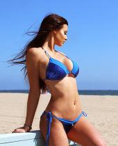 Sexy Blue Sequins Bikini Set 24625-1