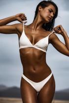 Sexy Solid Bikini Set 26057-3