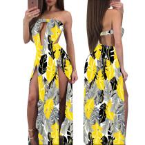 Sexy Tube Maxi-jurk met opdruk 26151-2