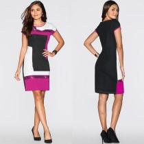 Elegant Sequins Colorful Dress 26559-3