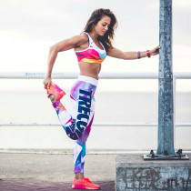 Sexy bunte Fitness Leggings 26587