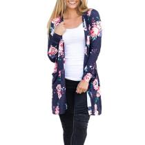 Flower Cardigan mit Taschen 26296-1