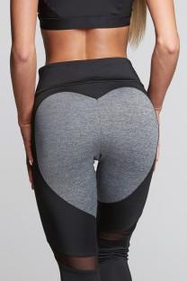 Calça de Fitness Patchwork Sexy 26253-1