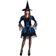 Short Witch Costume for Halloween Carvinal 27051