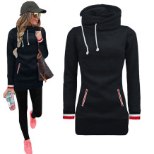Young Fashion Long Blank Hoody mit Taschen 26661-1