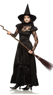 Long Witch Costume for Halloween Carvinal 27053