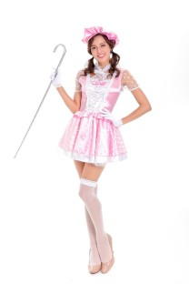 French Maid Pink Costume 27335