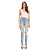 Waschen Mode zerrissene Jeans 27341