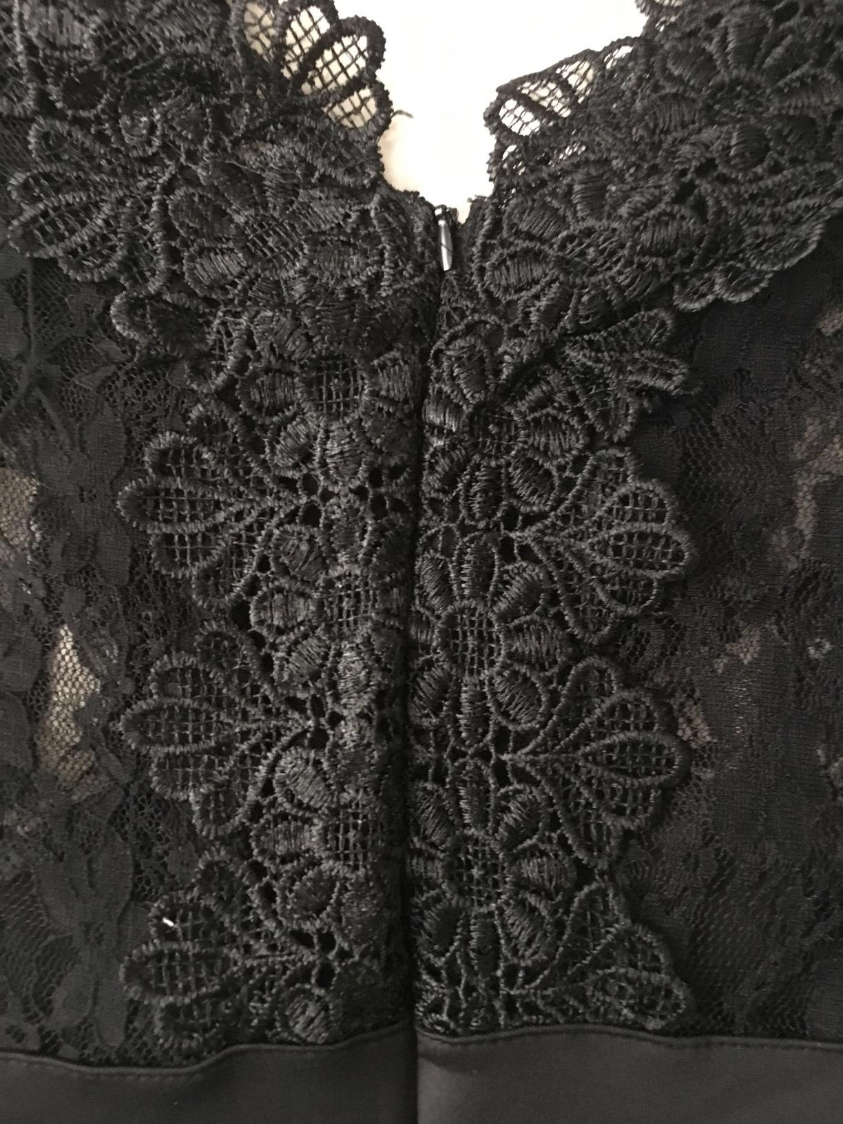 8e565a29d US  7.6 - Sexy Flower Lace Black Party Dress 26811 - www.global ...