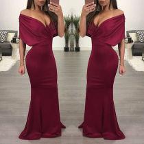 Sexy Schatz bodenlangen Abendkleid 27770-2