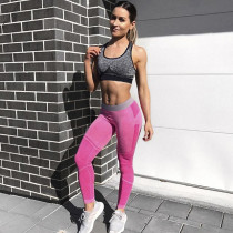 Sexy Pink Fitness Yoga Pant 27789-2