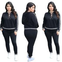 Sexy vetvrije hoodie en broek 28383-1