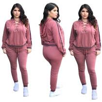 Sexy vetvrije hoodie en broek 28383-4