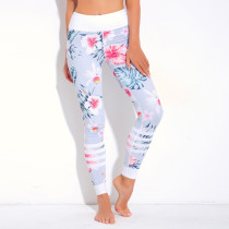 Floral Print Fitness Yoga Pants 28237