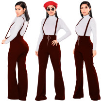 Pantalones Babero Anchas Legges 28086-2