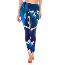 Colorful Print Fitness Yoga Pants 28239