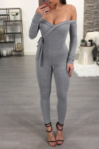 Sexy Sweetheart Wrapped Jumpsuit