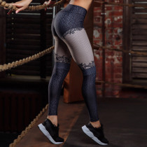 Sexy Contrast Fitness Yoga Pants