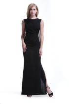 Vestido de fiesta de lentejuelas recolectadas 28476-1