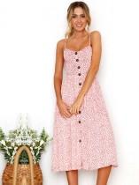 Vestido largo elegante flor francés