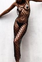 Copriscarpe sexy a rete lunga