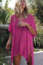 Sexy Hollow-Out V-Neck Cover-ups