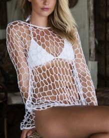 Cobertor Curto Sexy Fishnet