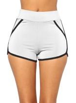 Shorts deportivos sexy con ribetes en contraste